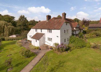 Thumbnail 4 bed cottage for sale in Grovehurst Lane, Horsmonden, Tonbridge