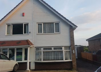 Thumbnail 2 bed semi-detached house to rent in Russell's Hall Road, Dudley