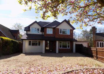 Thumbnail 4 bed detached house to rent in Watchetts Lake Close, Camberley, Surrey