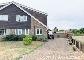 3 bed semi-detached house for sale in Orwell Crescent, Belton, Great Yarmouth NR31