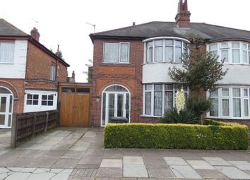 3 bed semi-detached house for sale in Hazelwood Road, Off Kedleston Road, Evington, Leicester LE5