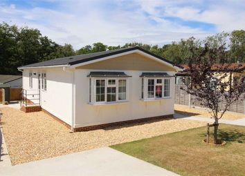 Thumbnail 2 bedroom mobile/park home for sale in Westwood Park, Bashley Cross Road, New Milton