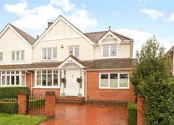 Belle Vue Road, Henley-On-Thames, Oxfordshire RG9. 5 bed semi-detached house for sale
