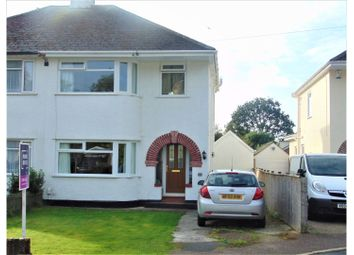 Thumbnail 4 bed semi-detached house for sale in St. Michaels Road, Newton Abbot