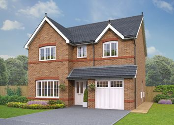 Thumbnail 4 bed detached house for sale in The Glyn, Eastern Road, Willaston, Cheshire