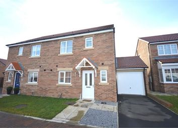 Thumbnail 3 bed semi-detached house for sale in Kingfisher Road, Emerson Park, Washington, Tyne & Wear.