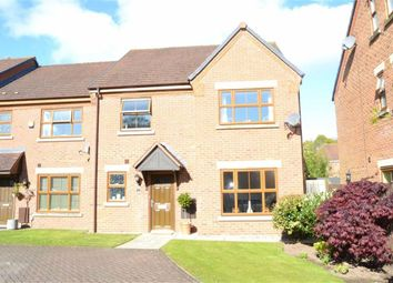 Thumbnail 5 bed town house for sale in Meadowbank Drive, Little Sutton, Wirral