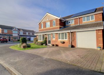 Thumbnail 5 bed detached house for sale in Lilac Court, Ashington