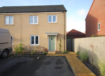 Thumbnail 3 bed semi-detached house for sale in Stour Close, Spalding