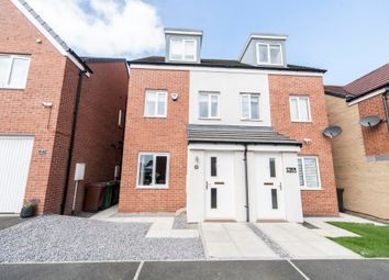 Thumbnail 3 bed semi-detached house for sale in Celandine Gardens, Hartlepool