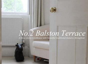 Thumbnail 3 bedroom town house for sale in Balston Terrace, Old Town Conservation Area, Poole