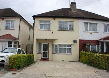 Thumbnail 3 bed semi-detached house for sale in Rannock Avenue, Kingsbury, London