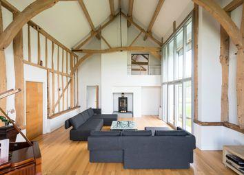 Thumbnail 5 bed barn conversion for sale in Blackmoor Barn, Little Wratting, Suffolk