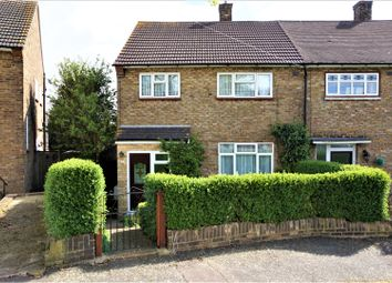 Thumbnail 3 bed end terrace house for sale in Preston Road, Harold Hill, Romford
