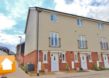 Thumbnail 3 bed town house for sale in The Crescent, Taverham Road, Drayton, Norwich