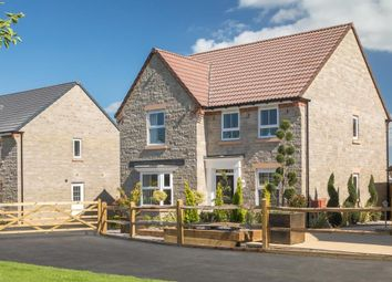 "Thumbnail 4 bed detached house for sale in ""Holden"" at Langport Road, Somerton"