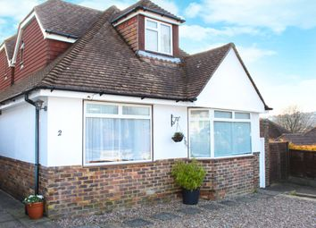 Thumbnail 4 bed detached house for sale in Mount Drive, Saltdean, Brighton