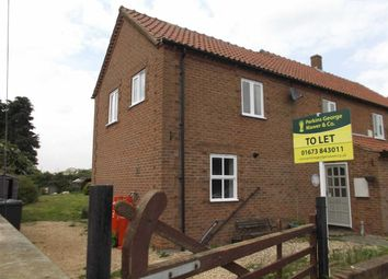 Thumbnail 3 bed cottage to rent in Highfield Terrace, Glentham, Market Rasen