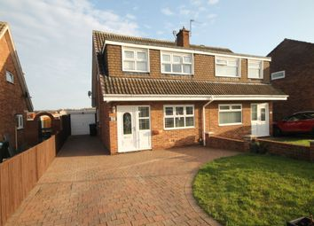 Thumbnail 3 bed semi-detached house for sale in Trimdon Avenue, Acklam, Middlesbrough