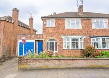 Thumbnail 3 bed semi-detached house for sale in Hylion Road, Knighton, Leicester
