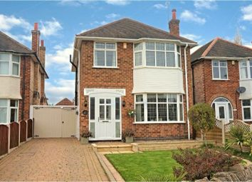 Thumbnail 3 bed detached house for sale in Heckington Drive, Wollaton