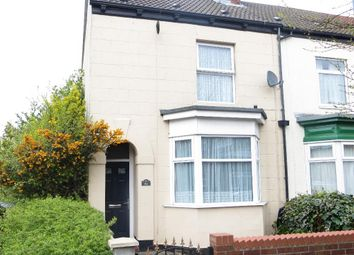 Thumbnail 3 bedroom end terrace house for sale in Alexandra Road, Newland Avenue, Hull