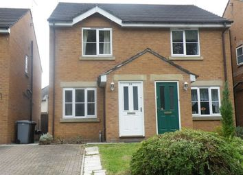Thumbnail Semi-detached house to rent in Brookdale Park, Crewe