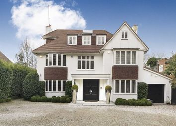 Thumbnail 5 bed detached house for sale in West Heath Avenue, London