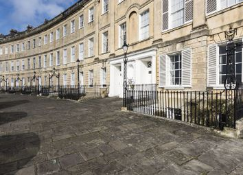 Thumbnail 3 bed flat to rent in Lansdown Crescent, Bath
