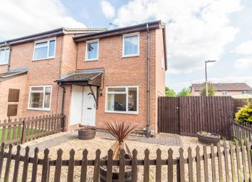 Thumbnail 3 bed end terrace house for sale in Ledbury Drive, Calcot, Reading