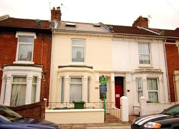 Thumbnail 5 bedroom terraced house to rent in Grayshott Road, Southsea, Hampshire