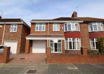 Thumbnail 4 bedroom semi-detached house for sale in Westfield Grove, Barnes, Sunderland