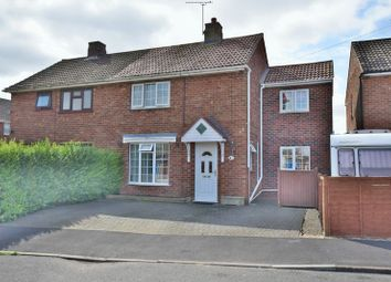 Thumbnail 3 bedroom semi-detached house for sale in Carlton Grove, Ermine East, Lincoln