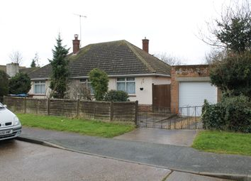 Thumbnail 2 bedroom detached bungalow for sale in Riby Road, Felixstowe