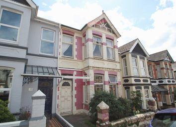 Thumbnail 3 bed terraced house for sale in Pounds Park Road, Peverell, Plymouth