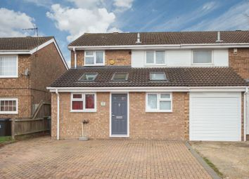 Thumbnail 3 bedroom semi-detached house for sale in Buckingham Drive, Luton