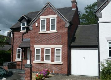 Thumbnail 3 bed detached house to rent in Heighley Court, Betley, Cheshire