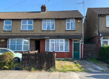 Thumbnail 3 bed end terrace house to rent in Dunstable Road, Luton