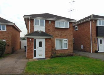 Thumbnail 4 bed detached house for sale in Cavendish Drive, Northampton
