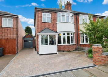 Thumbnail 3 bedroom semi-detached house for sale in Wyndale Road, Knighton, Leicester