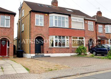Thumbnail 4 bed semi-detached house for sale in Burnham Close, Enfield, Middlesex