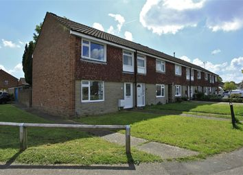 Thumbnail 3 bed end terrace house for sale in Rutherwick Close, Horley, Surrey