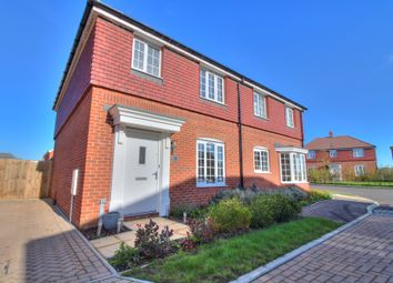 Thumbnail 3 bed semi-detached house for sale in Abbott Way, Holbrook, Ipswich