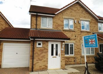 Thumbnail 3 bed semi-detached house to rent in Maple Drive, Widdrington, Morpeth