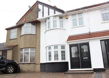 Thumbnail 4 bed terraced house for sale in Ashley Avenue, Ilford
