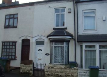 Thumbnail 2 bed property to rent in Gladys Road, Bearwood, Birmingham