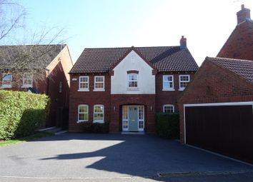 Thumbnail 4 bed detached house for sale in Windmill Close, Ravenstone, Leicestershire