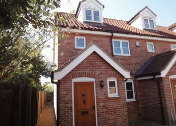 Thumbnail 4 bed town house to rent in Millers Square, Chapel Road, Attleborough