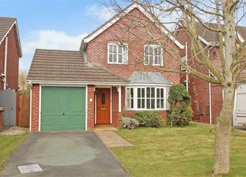 Thumbnail 3 bed detached house for sale in Grosvenor Road, Oswestry
