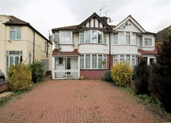 Thumbnail 3 bed property to rent in Runnymede Gardens, Western Avenue, Greenford
